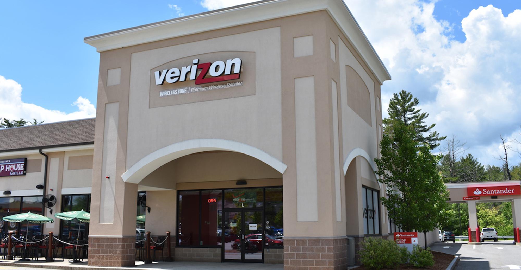 Verizon, Hooksett Landing, Hooksett, NH